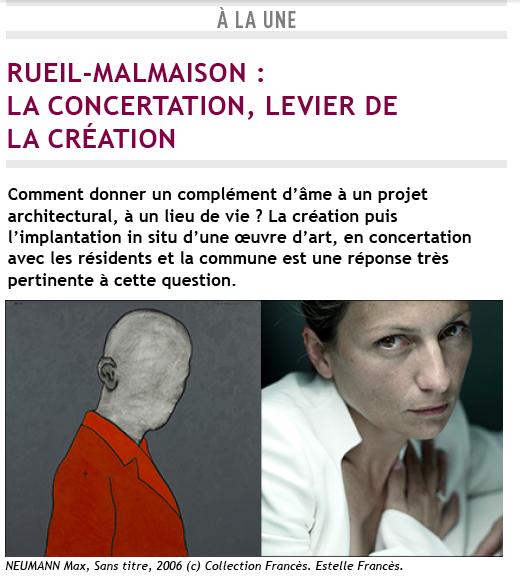 Rueil-Malmaison : la concertation, levier de la création