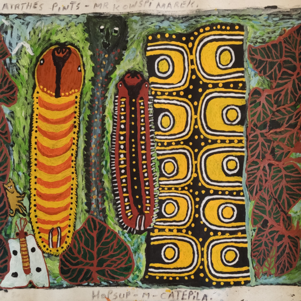 La restauration des peintures contemporaines de Papouasie Nouvelle-Guinée